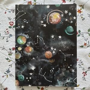 Society 6 Cosmic Astrology Notebook Journal